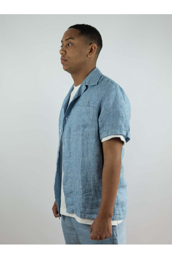 Castart S/S Devil'sheadshirt Middle Blue