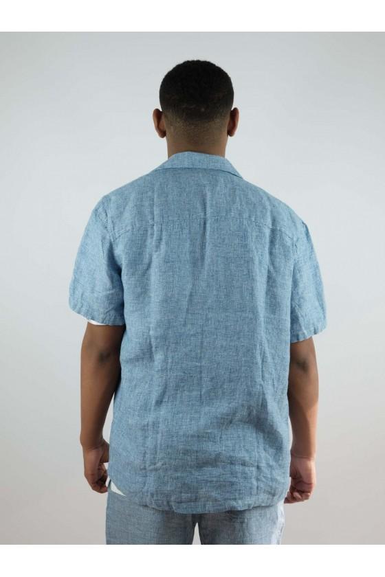 Castart S/S Devil'sheadshirt Middle Blue