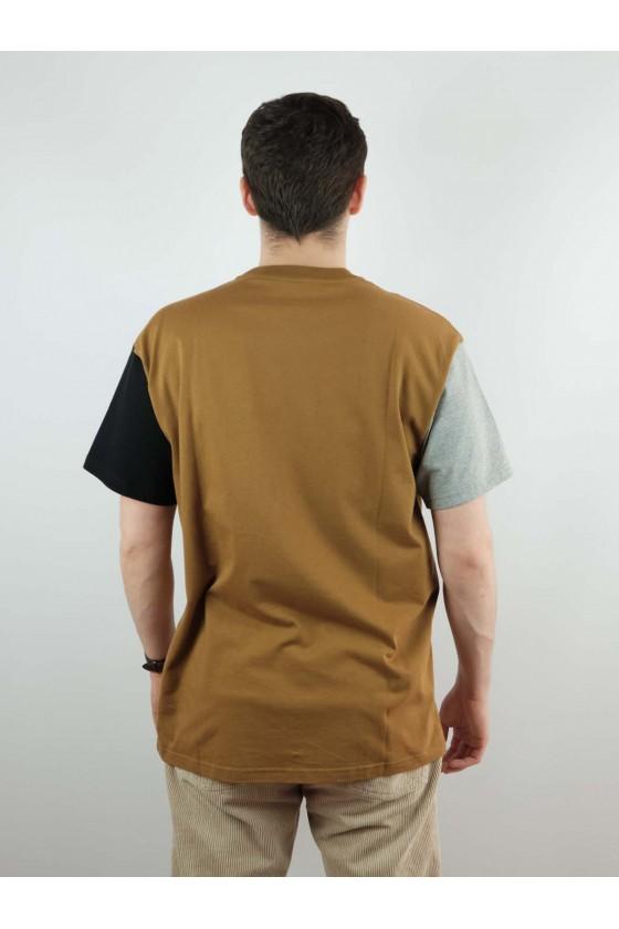 Carhartt S/STricolT-Shirt HamiltonBrown