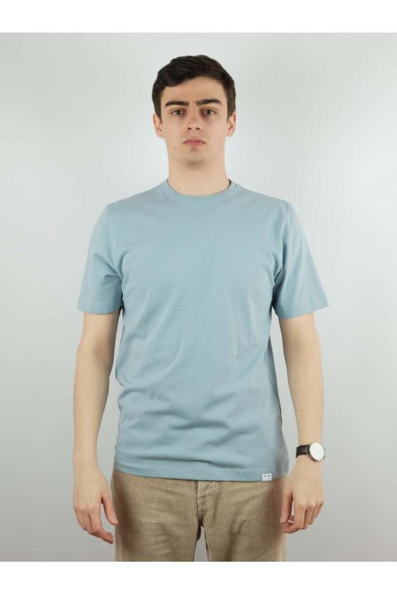 Samsoe Hugot-shirt Dustyblue