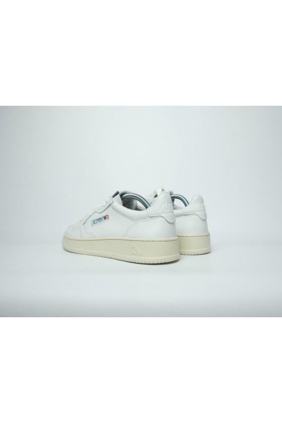 Autry Leather White