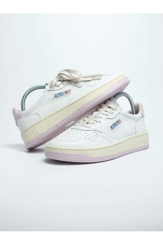 Autry Low Pink/White